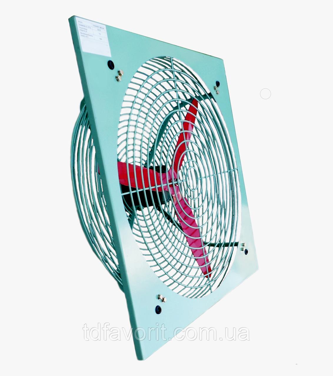 Взрывозащищенный осевой вентилятор HV 600