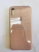 Original Silicon Case iPhone XR nude