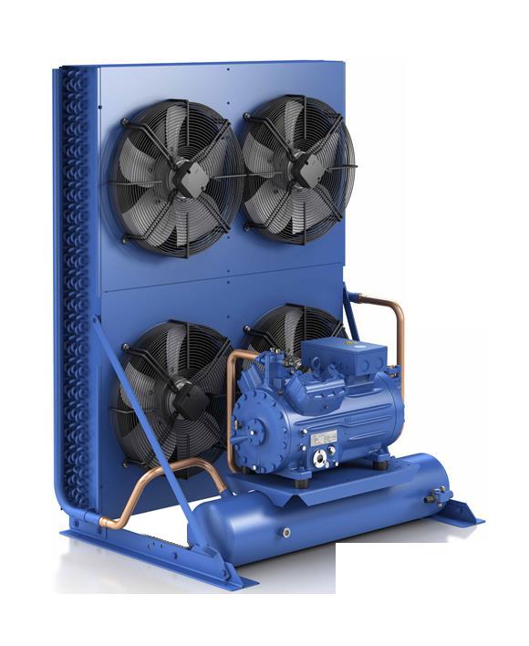 Холодильный агрегат ECU-HGX665-KFL46-R25