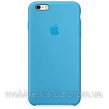 Original Silicon Case iPhone 6/6S Bright bIue