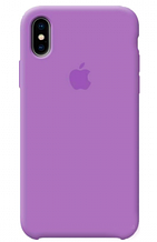 Original Silicon Case iPhone XS MaX lilas
