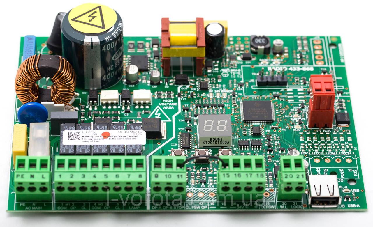 FAAC E 045 плата управления для автоматики распашных ворот