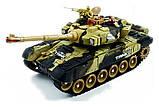 ✅Великий бойовий танк на радіокеруванні 9995. Два кольори, фото 6