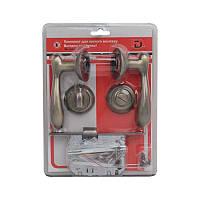 Комплект для межкомнатной двери RDA Imola WC 257 матовая античная латунь (Китай)