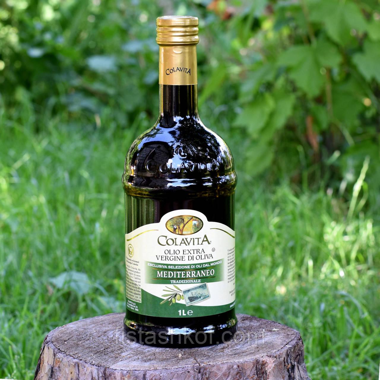 Оливковое масло Colavita's Mediterranean Extra Virgin Olive Oil 1л., Италия.