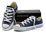 Кеды копия Converse All Star classic мужские и женские все цвета низкие, фото 9