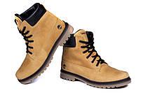 Мужские зимние кожаные ботинки Crazy Shoes Limone (реплика) р. 40, фото 3