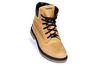 Мужские зимние кожаные ботинки Crazy Shoes Limone (реплика) р. 40, фото 4