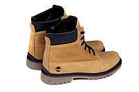 Мужские зимние кожаные ботинки Crazy Shoes Limone (реплика) р. 40, фото 6