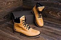 Мужские зимние кожаные ботинки Crazy Shoes Limone (реплика) р. 40, фото 7