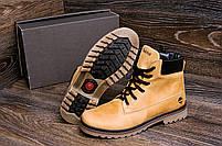 Мужские зимние кожаные ботинки Crazy Shoes Limone (реплика) р. 40, фото 8