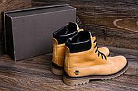 Мужские зимние кожаные ботинки Crazy Shoes Limone (реплика) р. 40, фото 9