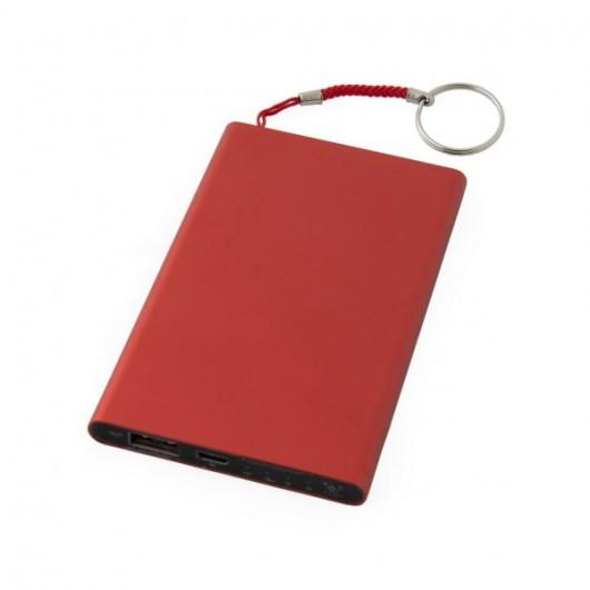 Зарядное устройство повер банк POWER BANK SIRIUS на 4000 mAh 4000, Красный