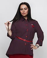 Жіноча сорочка з поясом, з 48-64 розмір
