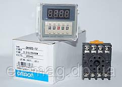 Таймер DH48S-1Z (0.01 сек – 99 час 99 мин) AC220V OMRON Made in Japan