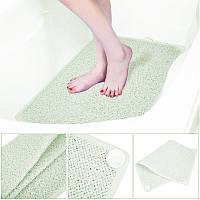 🔝 Противоскользящий коврик для ванной комнаты AquaRug, антискользящий ковер на присосках в ванную | 🎁%🚚, фото 1