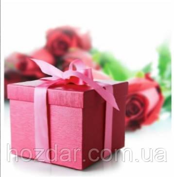 Пакет подарочный бумажный квадрат 23х24х10 (24-147)