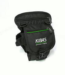 Сумка-разгрузка на бедро KIBAS Perca style green Stream (KS10233)