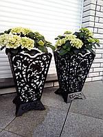 Урна садовая  / вазон уличный из металла
