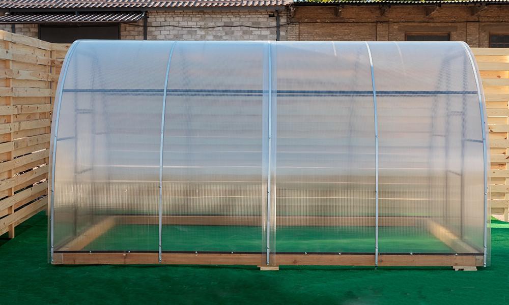 Арочная Теплица Овощная Nk Plast (300х1200х200 см) Сотовый Поликарбонат 4 мм