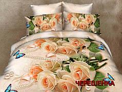 """Семейный набор хлопкового постельного белья из Бязи """"Gold"""" №156935 Черешенка™"""