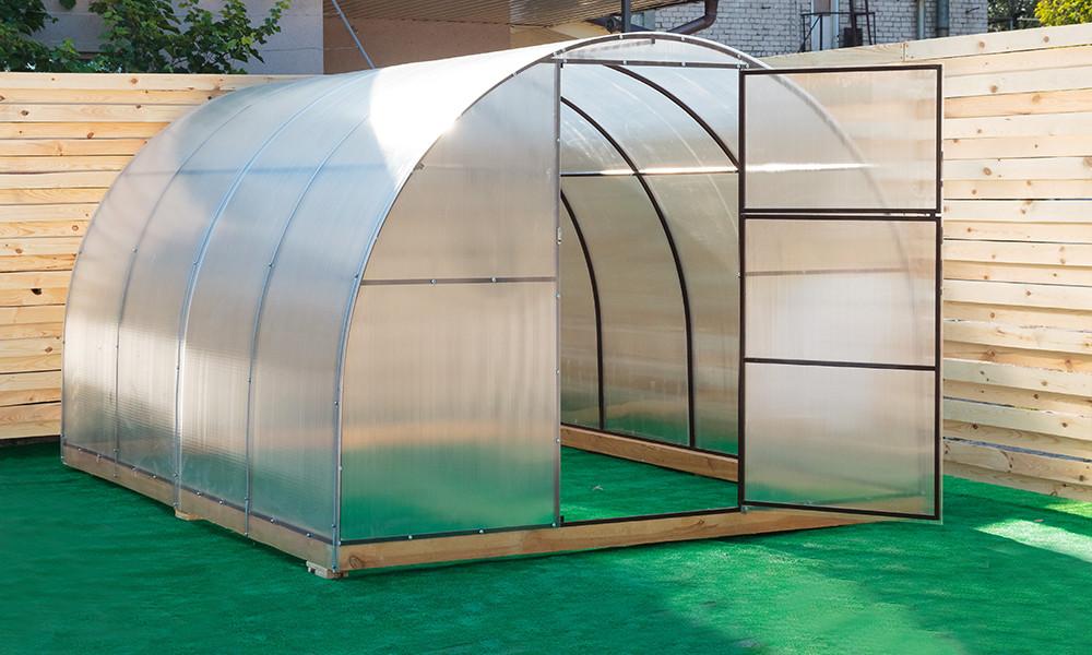 Арочная Теплица Овощная Nk Plast (300х800х200 см) Сотовый Поликарбонат 4 мм