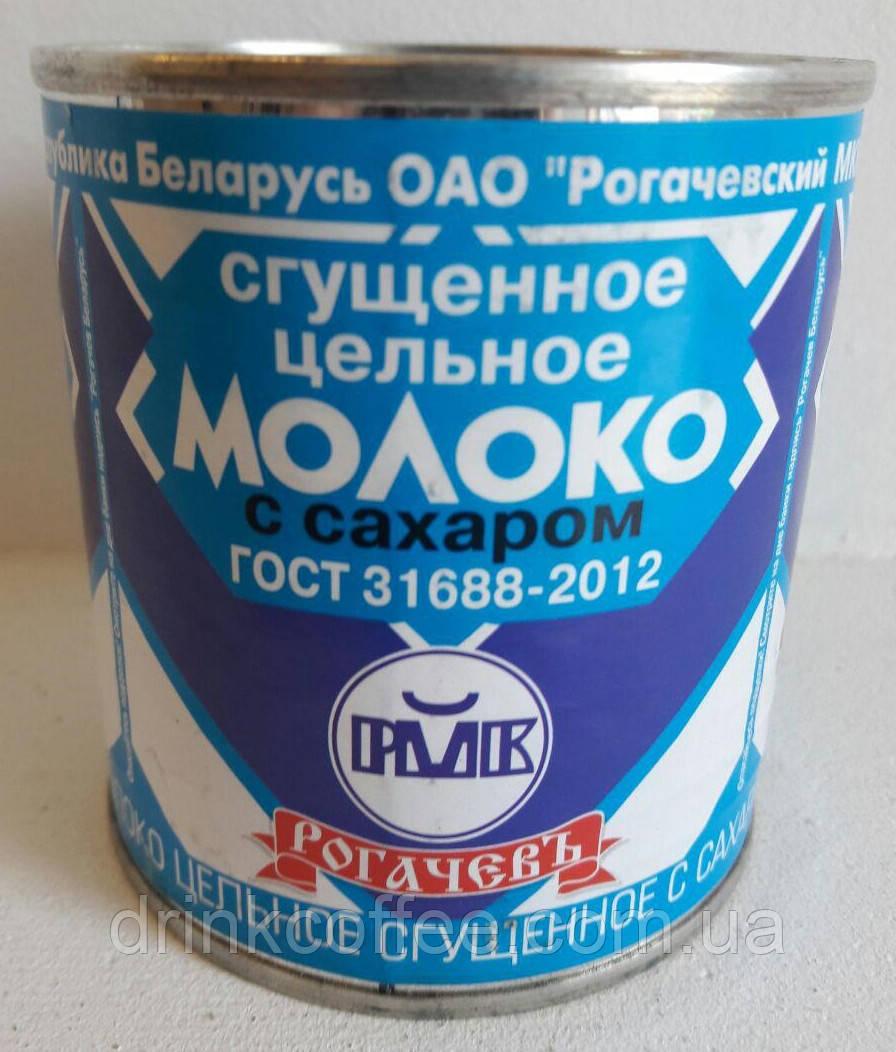 Молоко сгущенное цельное с сахаром, Беларусь, 380г