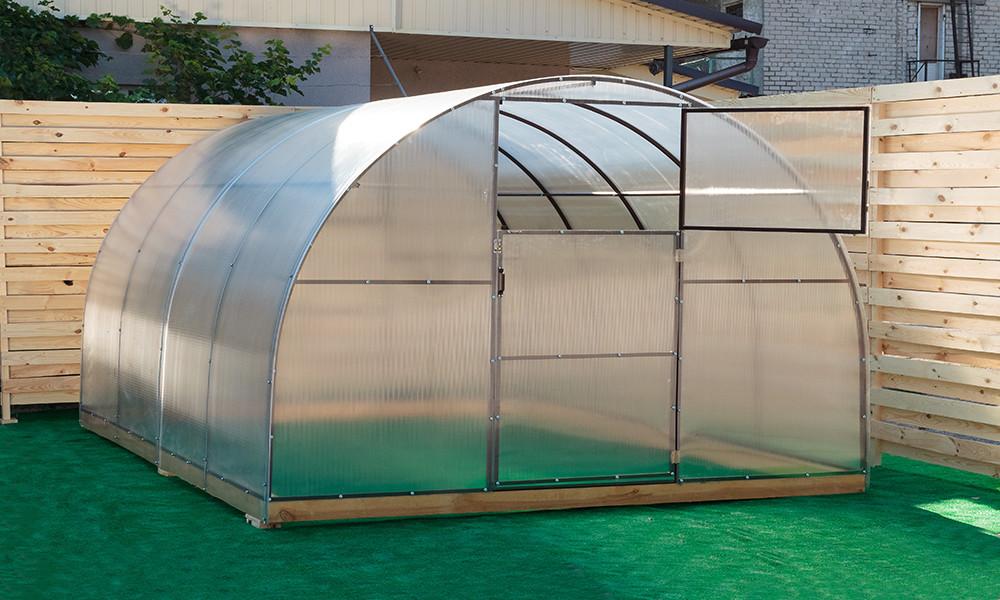 Арочная Теплица Овощная Nk Plast (300х600х200 см) Сотовый Поликарбонат 4 мм