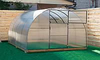 Арочная Теплица Овощная Nk Plast (300х600х200 см) Сотовый Поликарбонат 4 мм, фото 1