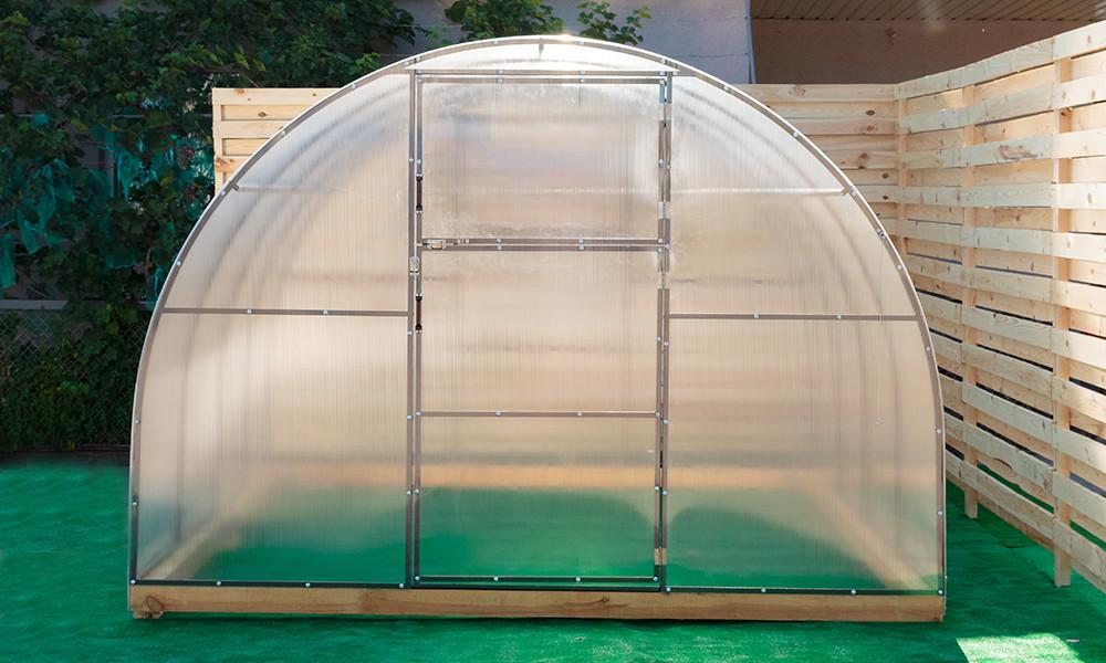 Арочная Теплица Овощная Nk Plast (300х400х200 см) Сотовый Поликарбонат 4 мм