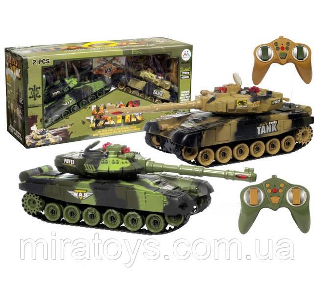 Танковый бой 9993. Два танка на радиоуправлении купить