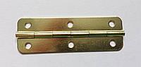 Петля для меблів золото 60х20 мм