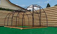 Арочная Теплица Лидер Nk Plast (300х400х200 см) Каркас Под Сотовый Поликарбонат и Пленку, фото 1