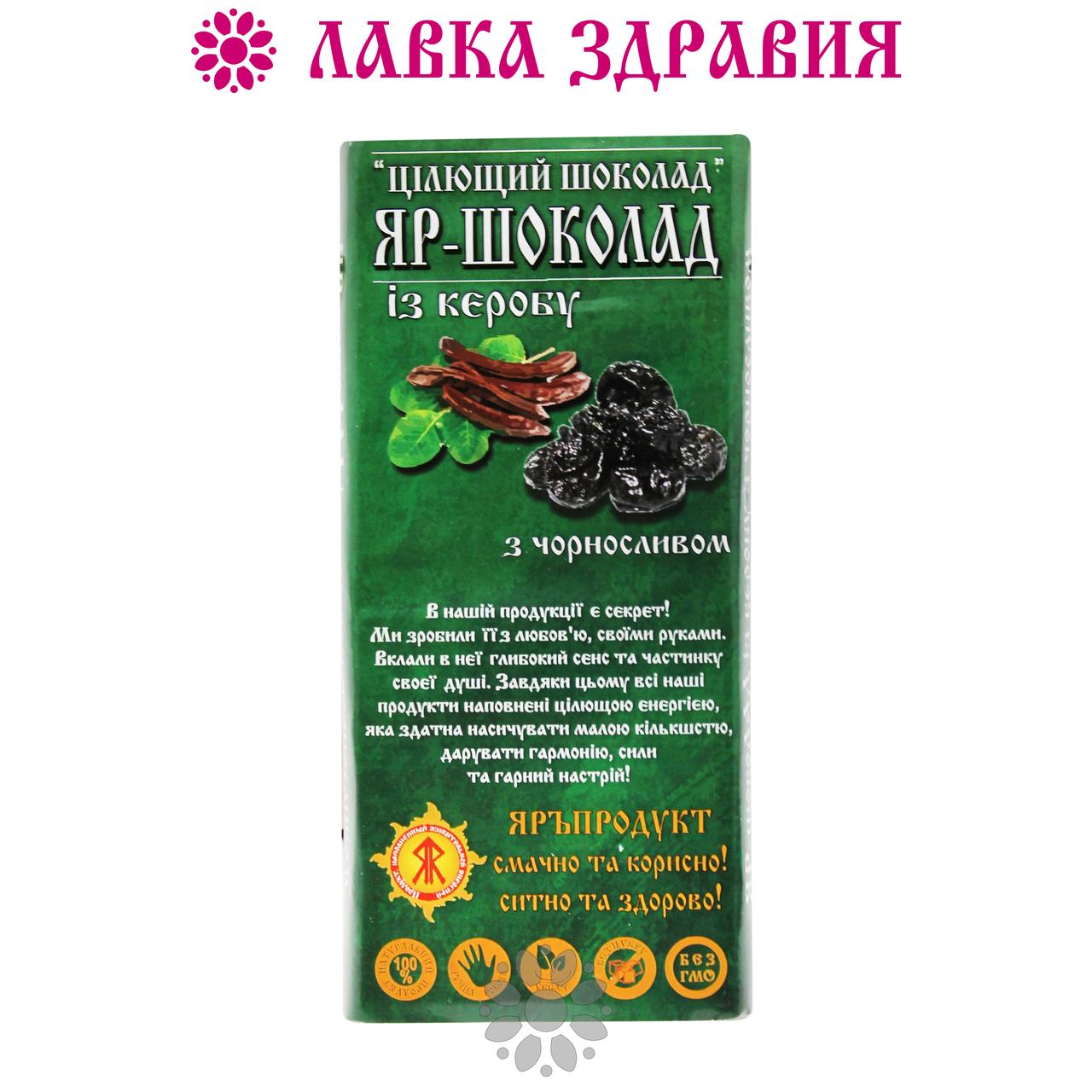 Яръ-шоколад с кэробом и черносливом, 100 г
