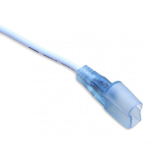 Коннектор PROLUM для светодиодного неона (Провод + 1 зажим) - 10х20