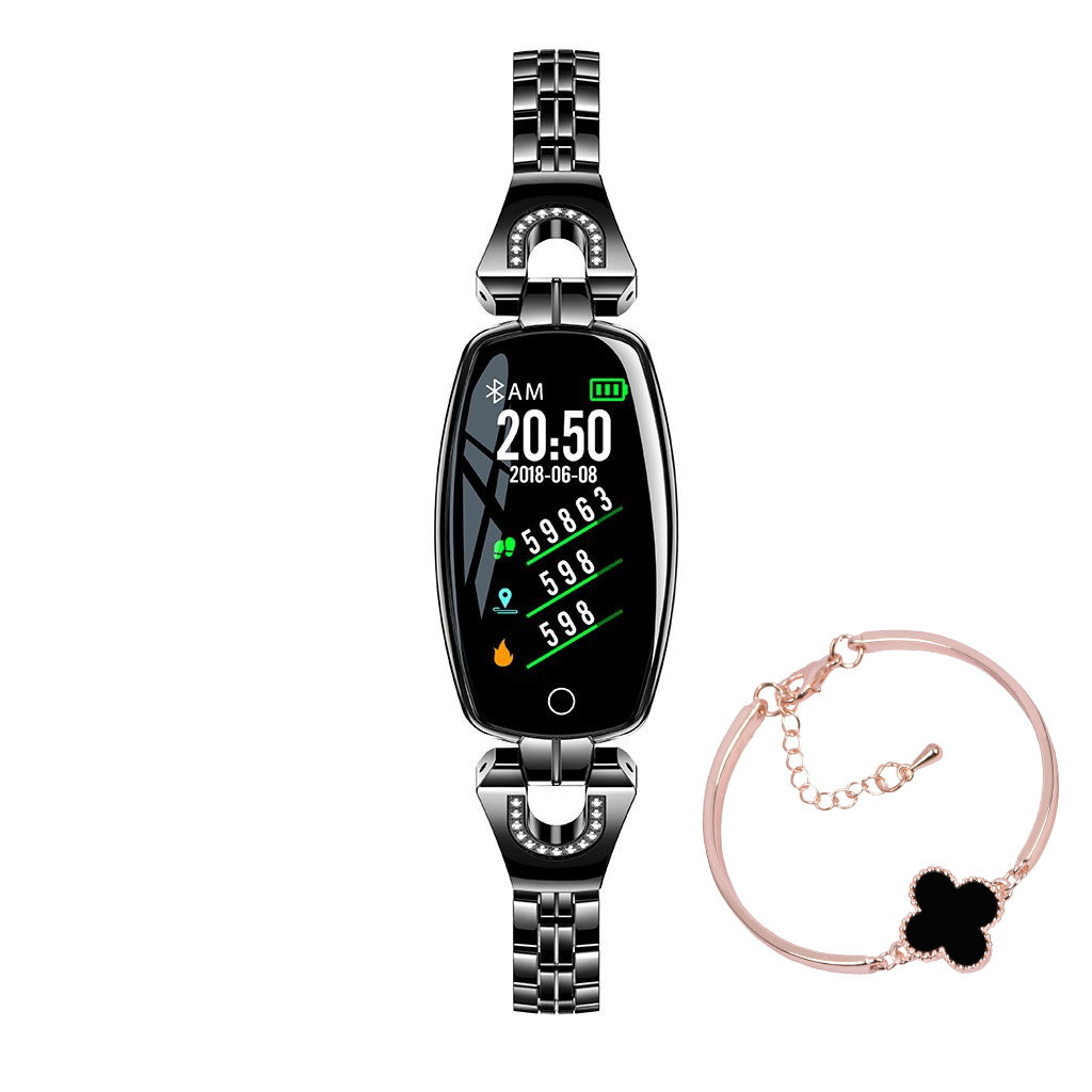 Folem H8 - женский браслет с тонометром - Черный