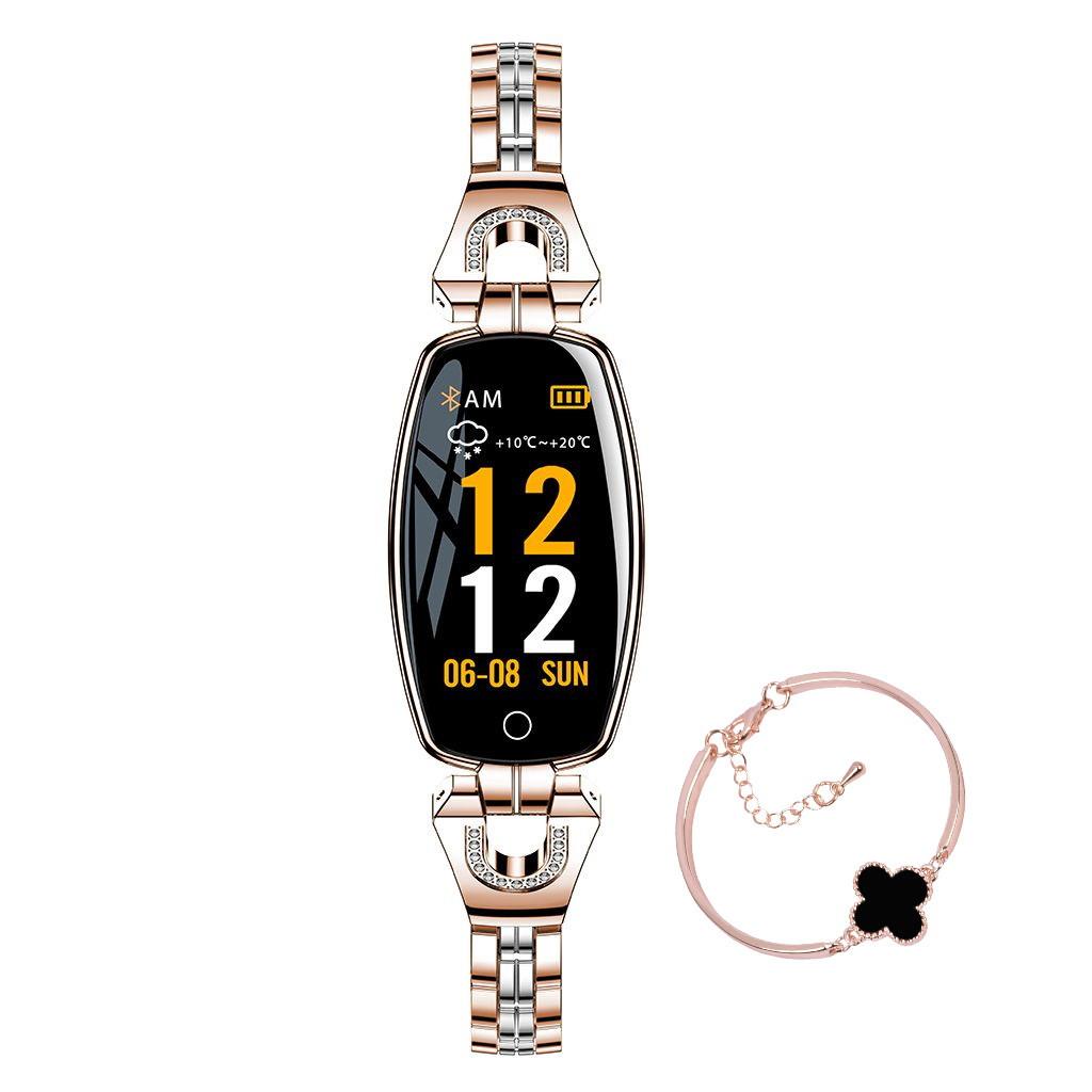 Folem H8 - женский браслет с тонометром - Золото
