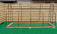 Арочная Теплица Лидер Nk Plast (300х800х200 см) Каркас Под Сотовый Поликарбонат и Пленку, фото 1