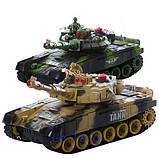 ✅Танковый бой 9995. Два больших танка на радиоуправлении, фото 2