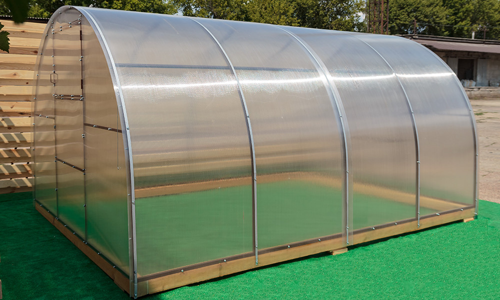 Арочная Теплица Лидер Nk Plast (300х400х200 см) Сотовый Поликарбонат 4 мм