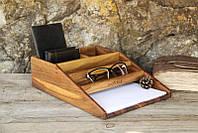 Органайзер для бумаги «Канцелярский набор». Сделано вручную в Украине EcoWalnut