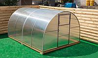 Арочная Теплица Лидер Nk Plast (300х600х200 см) Сотовый Поликарбонат 4 мм, фото 1