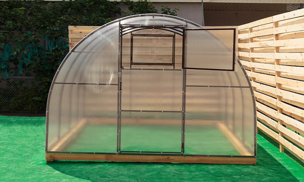 Арочная Теплица Лидер Nk Plast (300х800х200 см) Сотовый Поликарбонат 4 мм