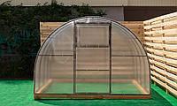 Арочная Теплица Лидер Nk Plast (300х1000х200 см) Сотовый Поликарбонат 4 мм, фото 1