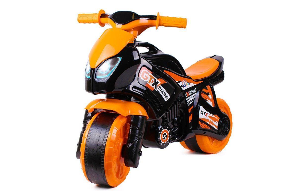 "Мотоцикл 5767 ""ТЕХНОК"" Черно - оранжевый 67395"