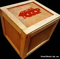 Ящик из дерева для упаковки подарка