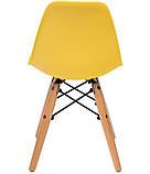Стілець дитячий Nik Eames kids, жовтий, фото 2