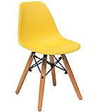 Стілець дитячий Nik Eames kids, жовтий, фото 3