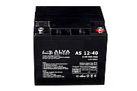 Аккумуляторная батарея гелевая ALVA battery AS12-40, фото 1