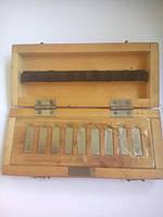 Меры длинны  концевые , набор из стали твердого сплава 0,991-0,999, возможна калибровка в Укрцсм, фото 1